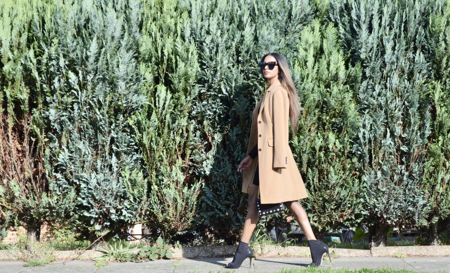 Head to style a camel coat this A/W