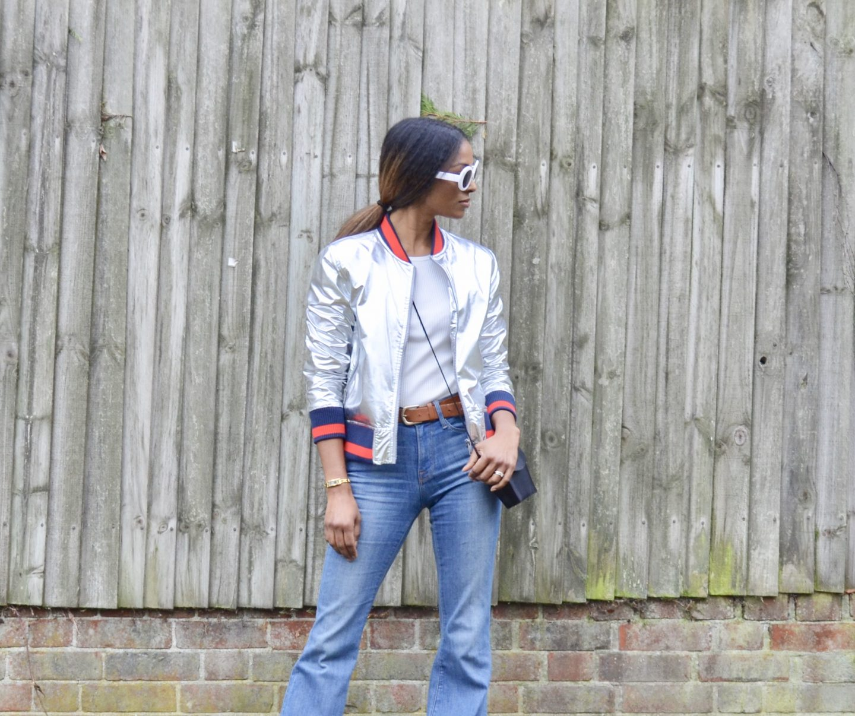 Flared Frame Jeans