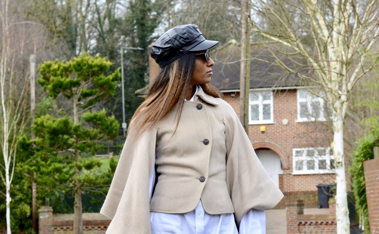 How to Style A Cape