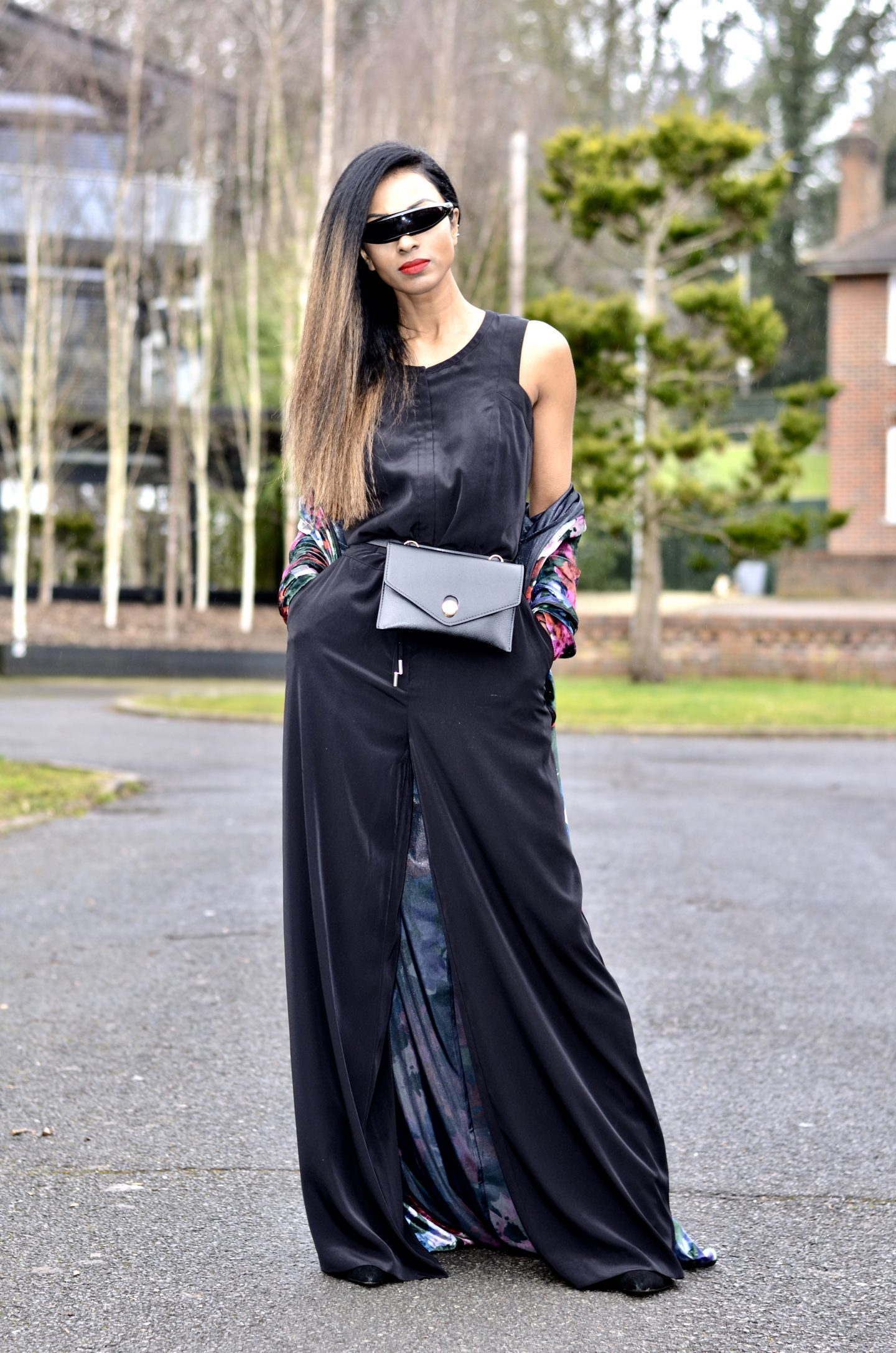 4ac77b19fcbb Karen Millen Jumpsuit And Zara Kimono - My name is Lovely!