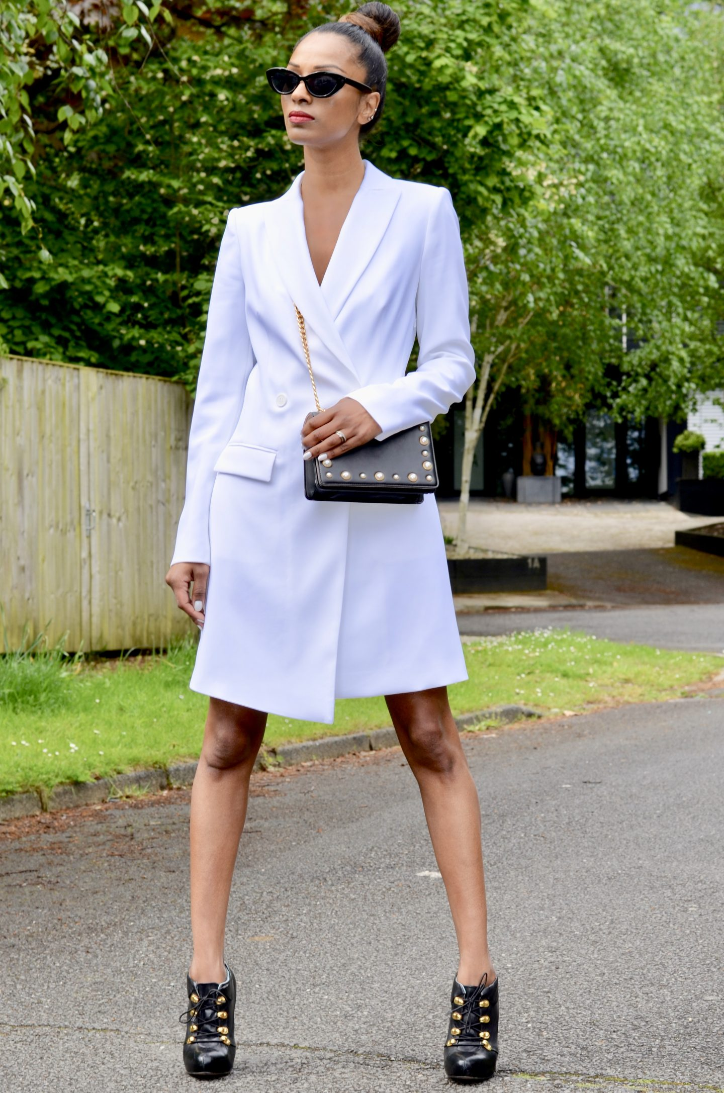 Tuxedo Dress for Wimbledon