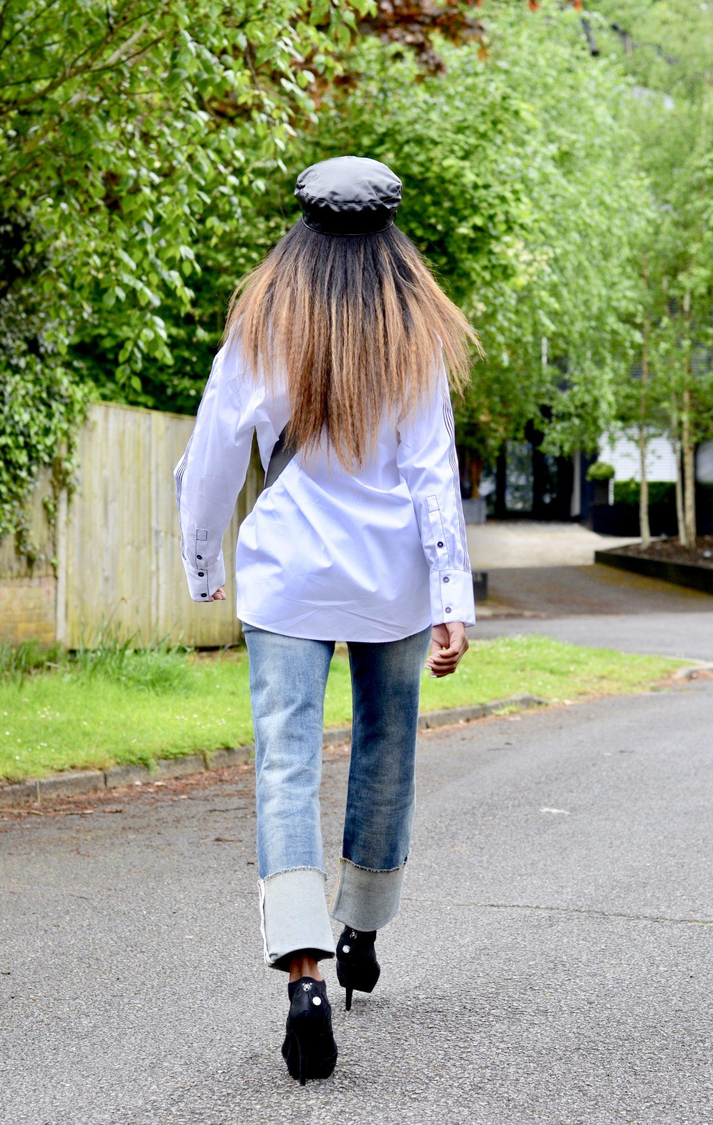 Zara classic white shirt