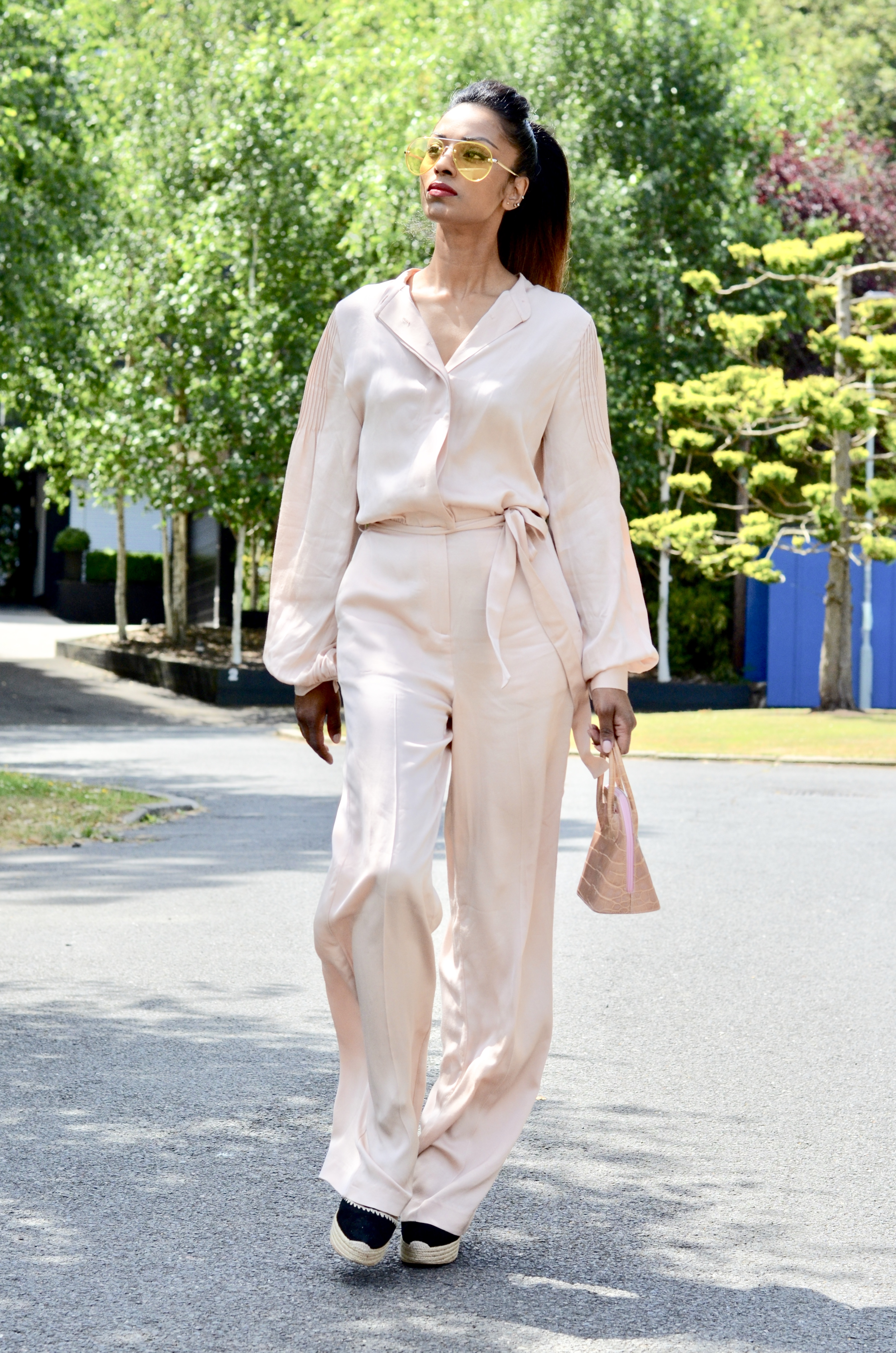 Reiss Blush Jumpsuit