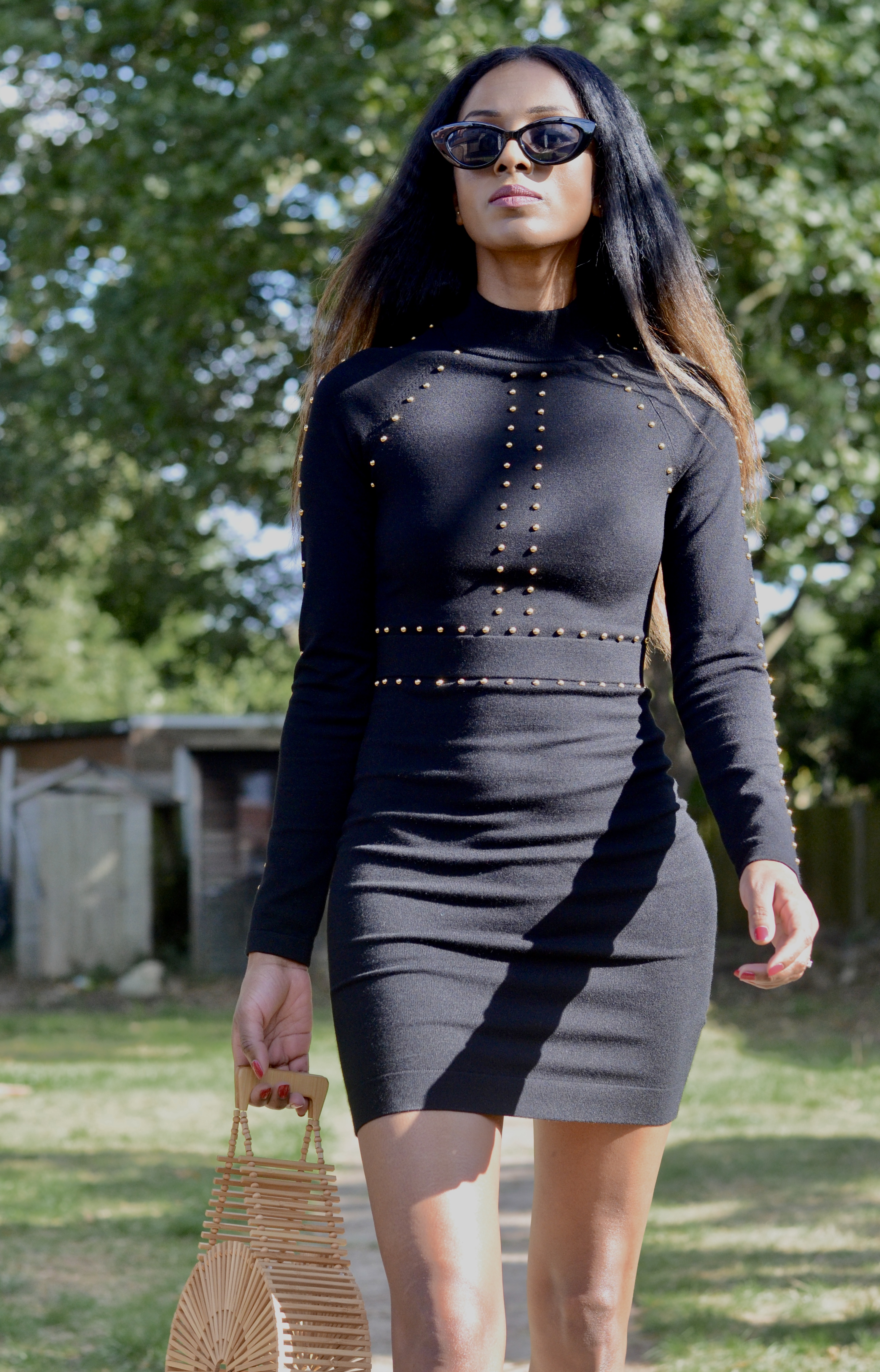 KAREN MILLEN KNIT DRESS FOR AUTUMN