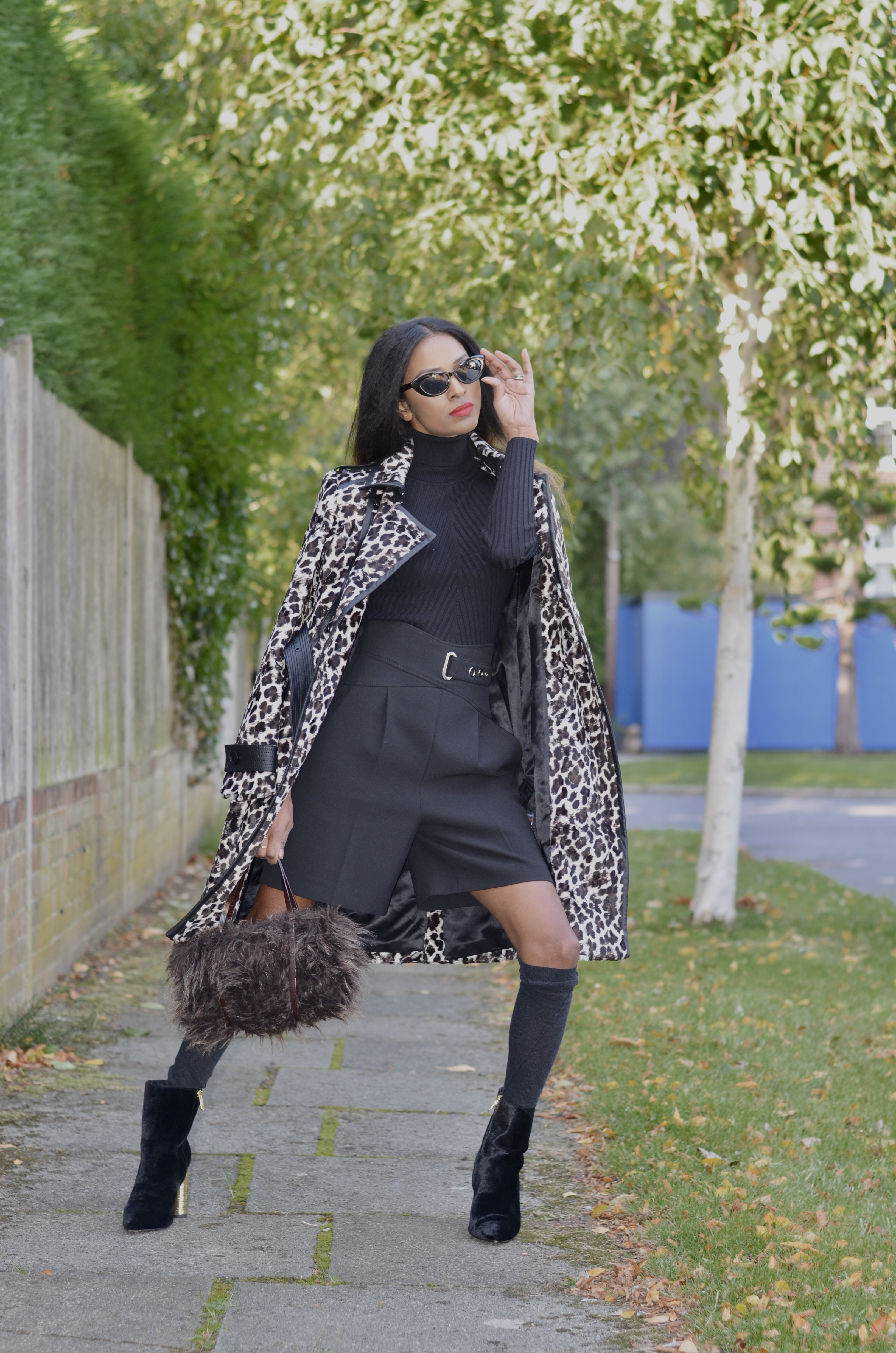 HOW TO STYLE LEOPARD PRINT FOR THE OFFICE