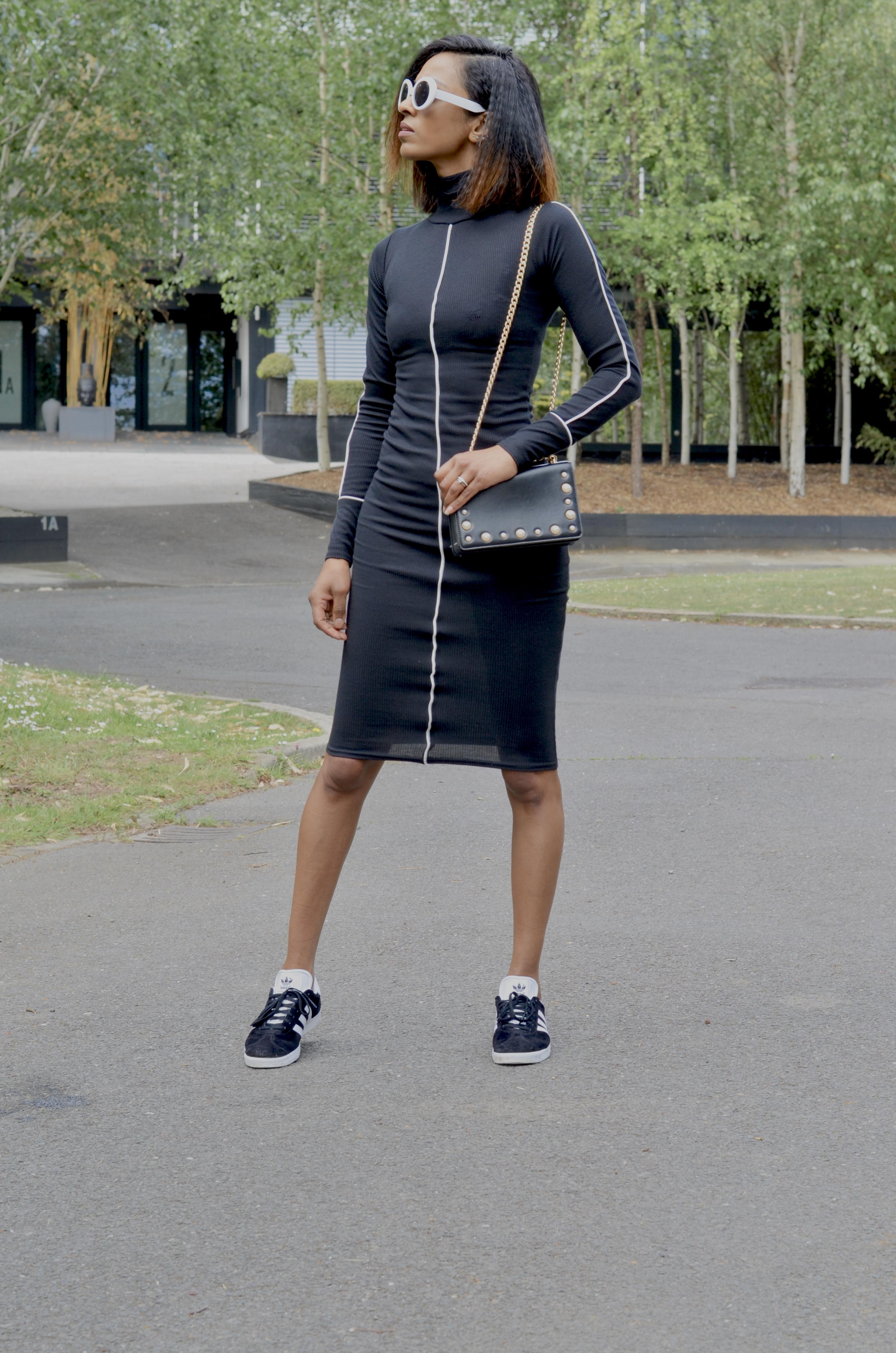 adidas gazelle femme look