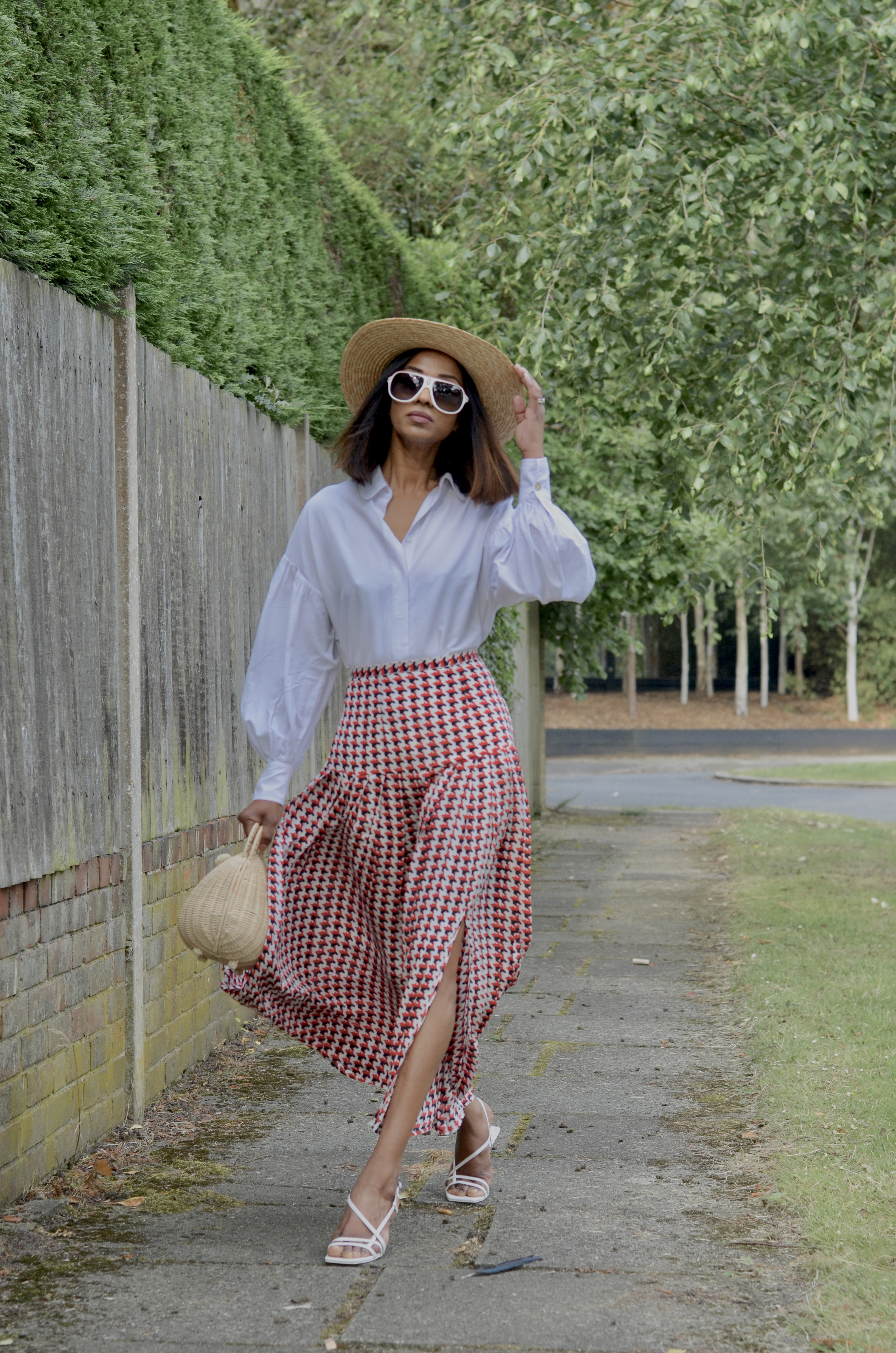 THE PERFECT SUMMER MIDI SKIRT