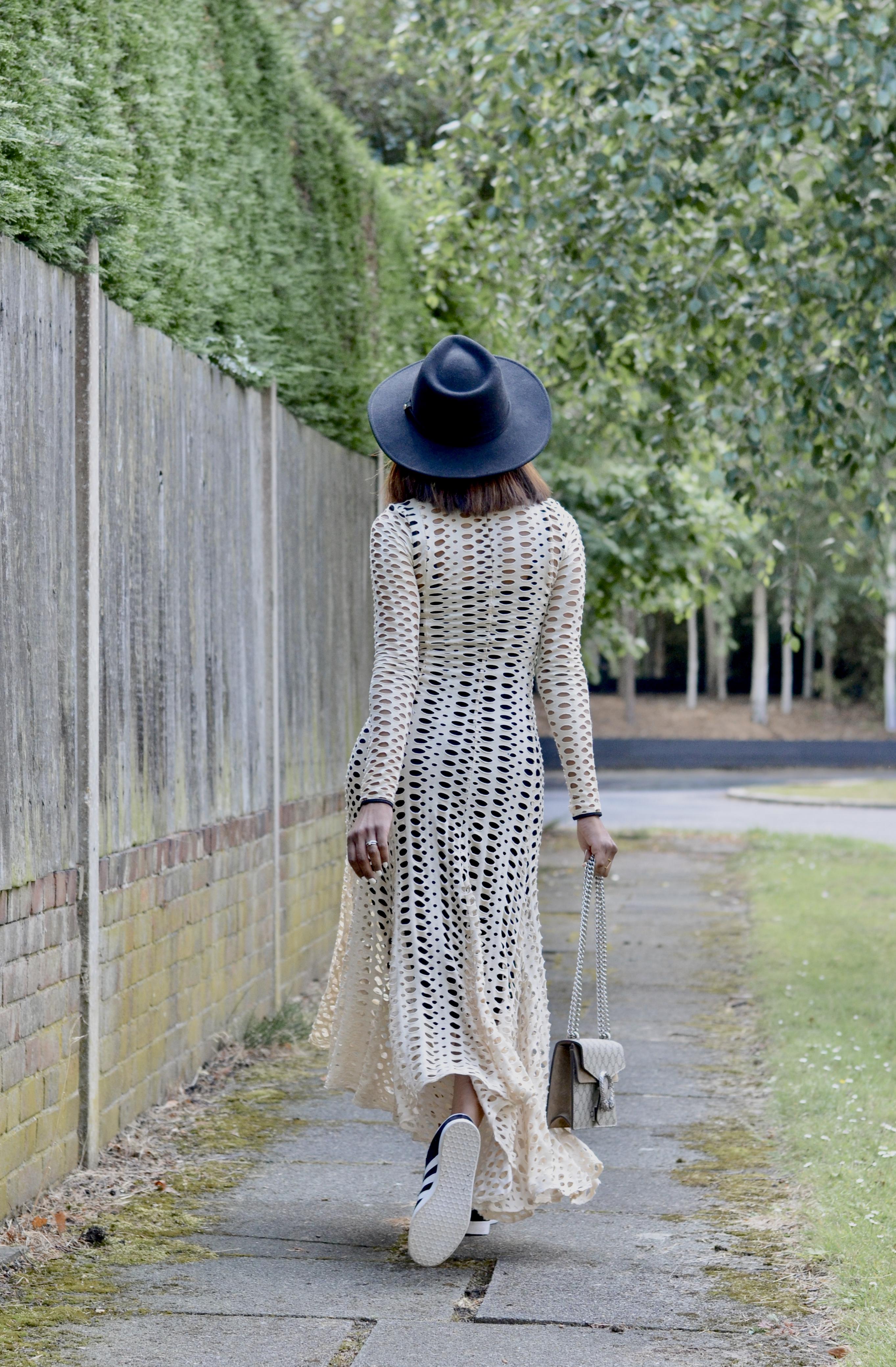 BY MALENE BIRGER POINTELLE DRESS