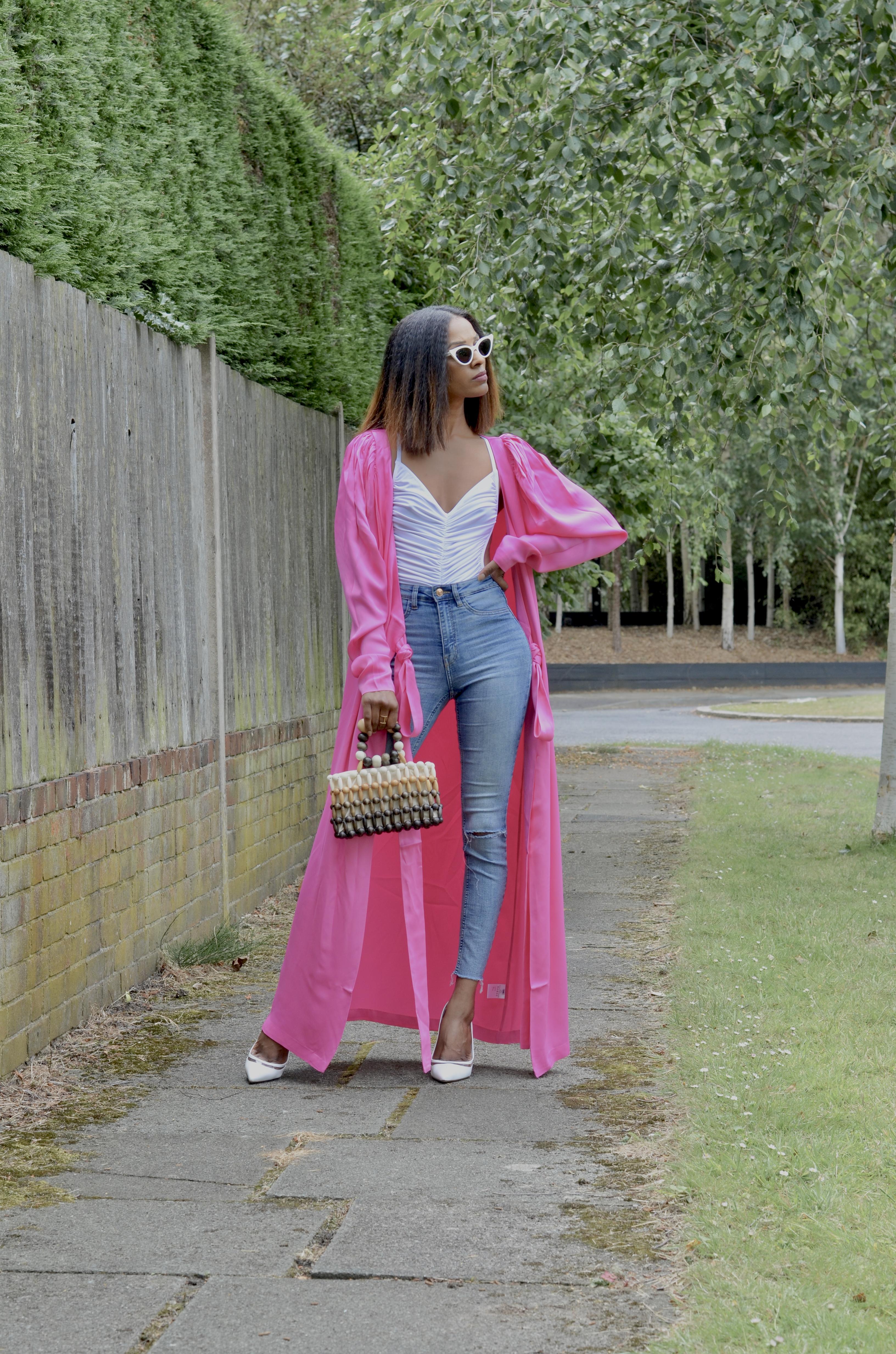 HOW TO WEAR A DRESS AS A KIMONO