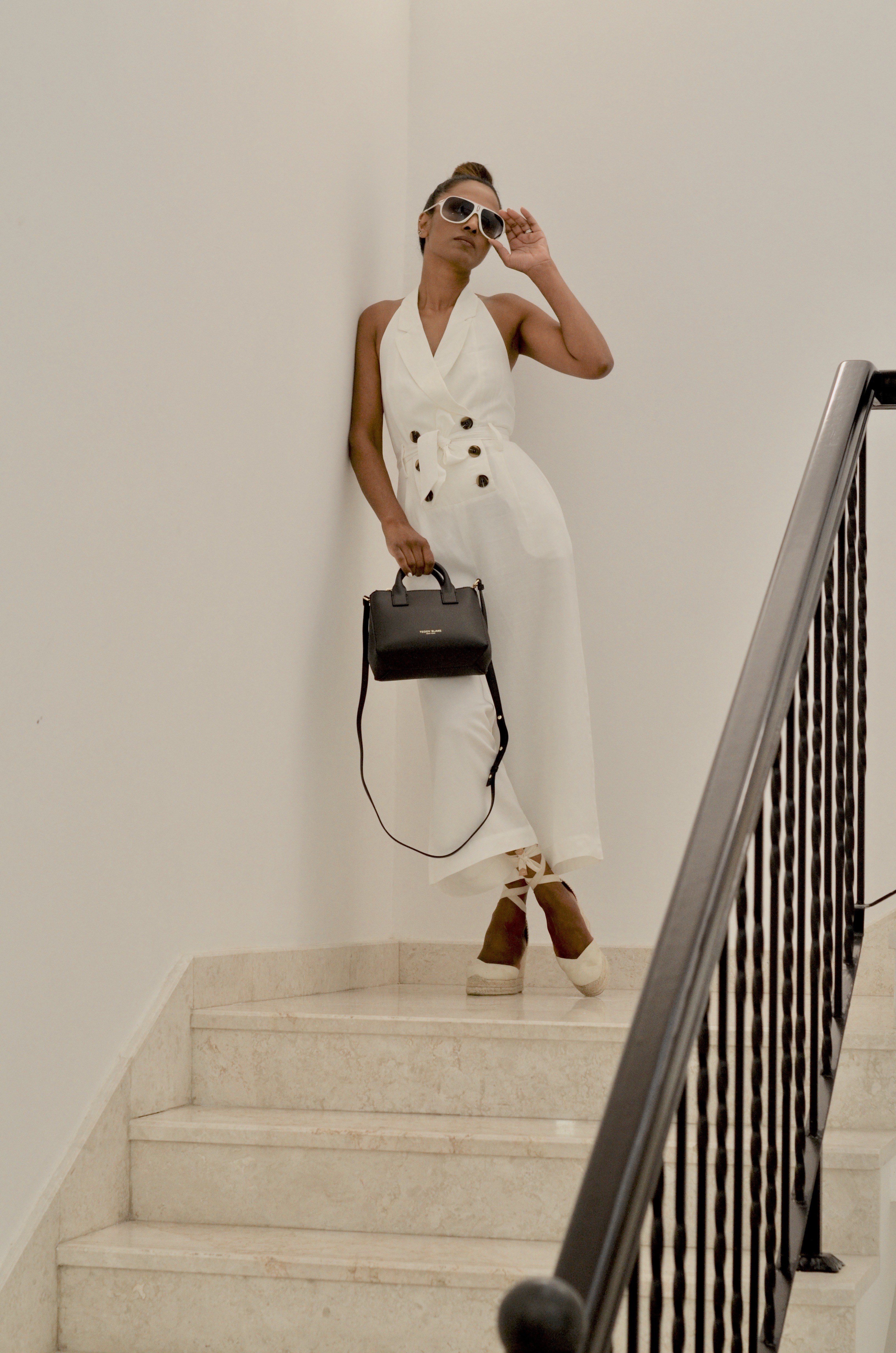 Teddy Blake New York Bag & Reiss Jumpsuit