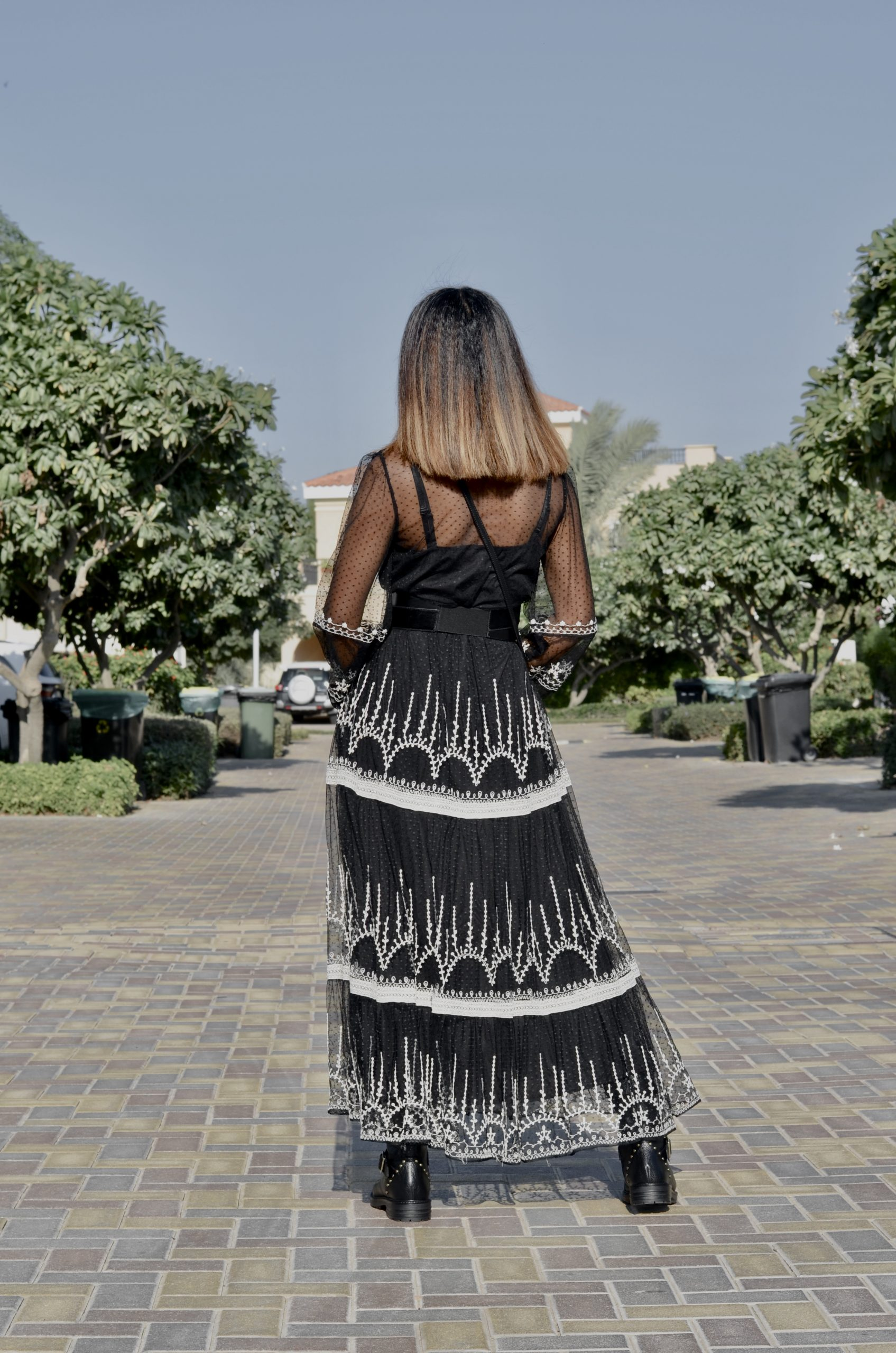 HOW TO STYLE A ZARA DRESS WITH DIOR VIBES